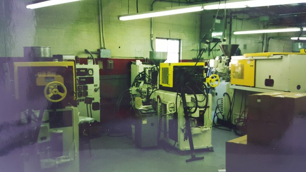 In the 90's the initial focus was tool fabrication, which expanded in the 90's to include injection molding.